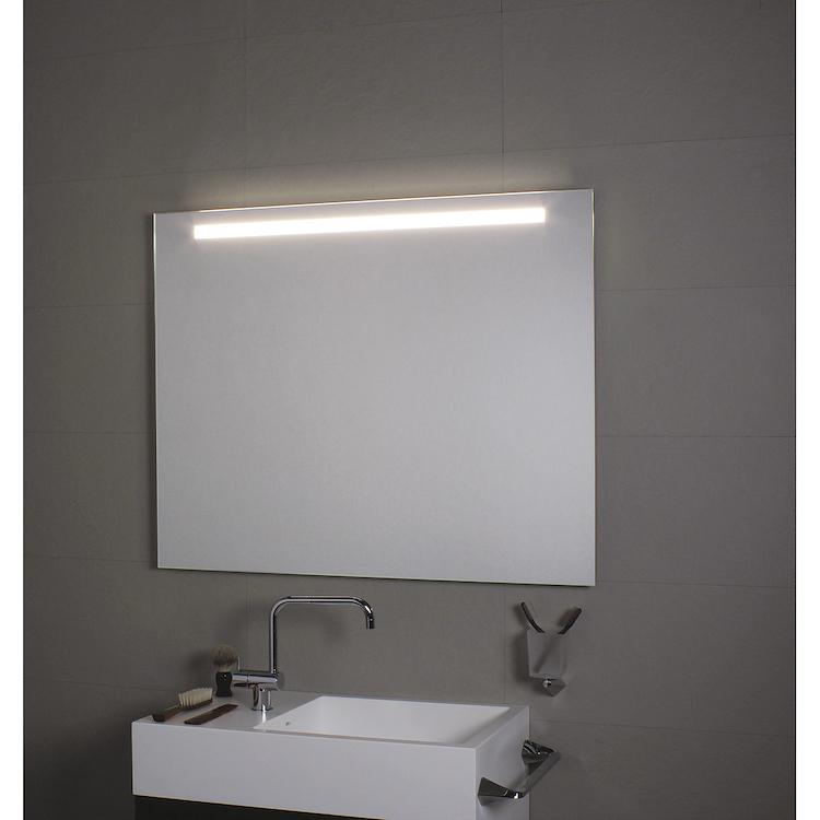 COMFORT LINE LED LC0352 SPECCHIO LUNGHEZZA 140 ALTEZZA 70 ILLUMINAZIONE FRONTALE  SUPERIORE codice prod: LC0352 product photo