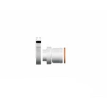 PROLUNGA COASSIALE CM25           100/60 codice prod: 3318007 product photo Default L2