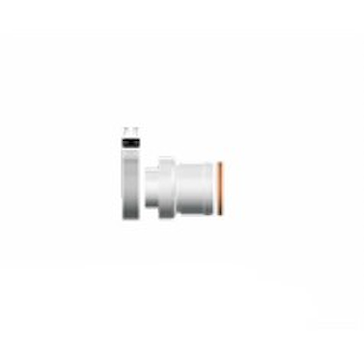PROLUNGA COASSIALE CM25           100/60 codice prod: 3318007 product photo