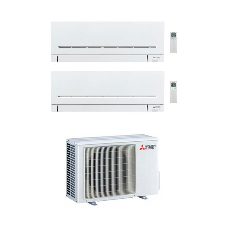PLUS MSZ-AP25VGK MSZ-AP25VGK MXZ-2F53VF3 DUALSPLIT 9000 9000 BTU MODELLO 2020 product photo