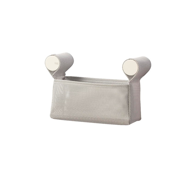 DOT BASKET EVDT73NB CONTENITORE L20 GRIGIO M.GE COVER BIANCO OPACO codice prod: EVDT73NB product photo