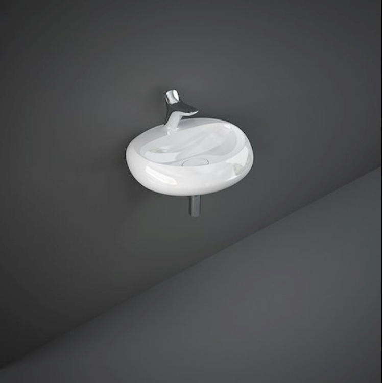 CLOUD CLOWB5501AWHA LAVABO SOSPESO L55 AWHA codice prod: CLOWB5501AWHA product photo
