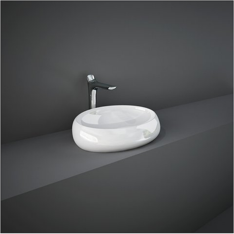 CLOUD CLOCT6000AWHA LAVABO APPOGGIO S/FOTO 60 AWHA OVALE codice prod: CLOCT6000AWHA product photo