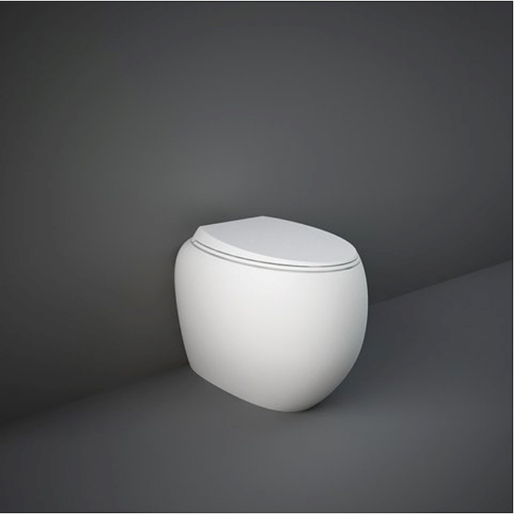 CLOUD CLOWC1346500A WC FILO PARETE L56 500A SCARICO UNIVERSALE MATT WHITE codice prod: CLOWC1346500A product photo