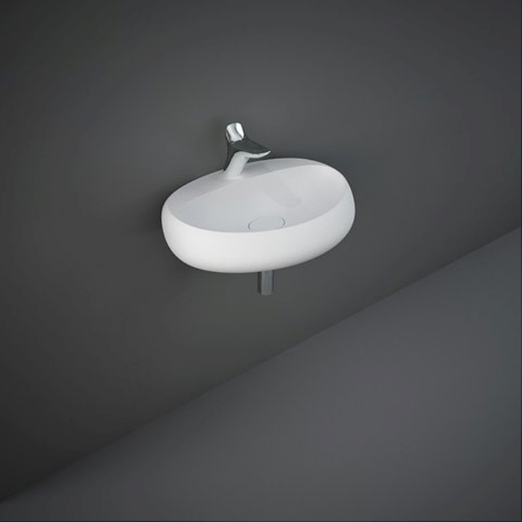 CLOUD CLOWB6501500A LAVABO SOSPESO L65 500A MATT WHITE codice prod: CLOWB6501500A product photo