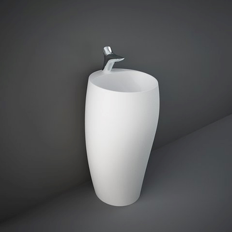 CLOUD CLOFS5001500A LAVABO FREESTANDING L50 500A MATT WHITE codice prod: CLOFS5001500A product photo