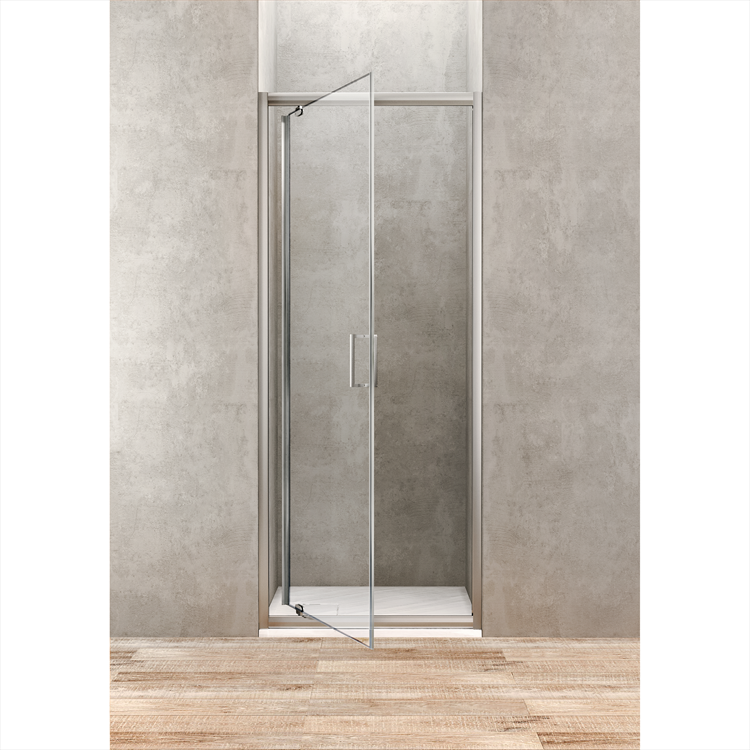GOLD PORTA BATTENTE PER BOX DOCCIA ANGOLARE 88-92cm codice prod: BBGOLTPG90 product photo