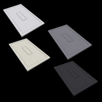 CARPET DESIGN PIATTO DOCCIA 100X80 BIANCO codice prod: DSV15231BI product photo Default L2
