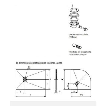 CARPET MATT PIATTO DOCCIA 90X 70 GRIGIO codice prod: DSV14221GR product photo Foto2 L2