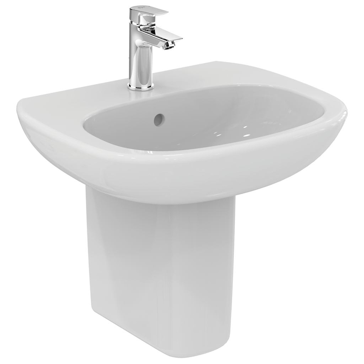 TESI NEW LAVABO 1 FORO 55X45 SOSPESO codice prod: T351501 product photo