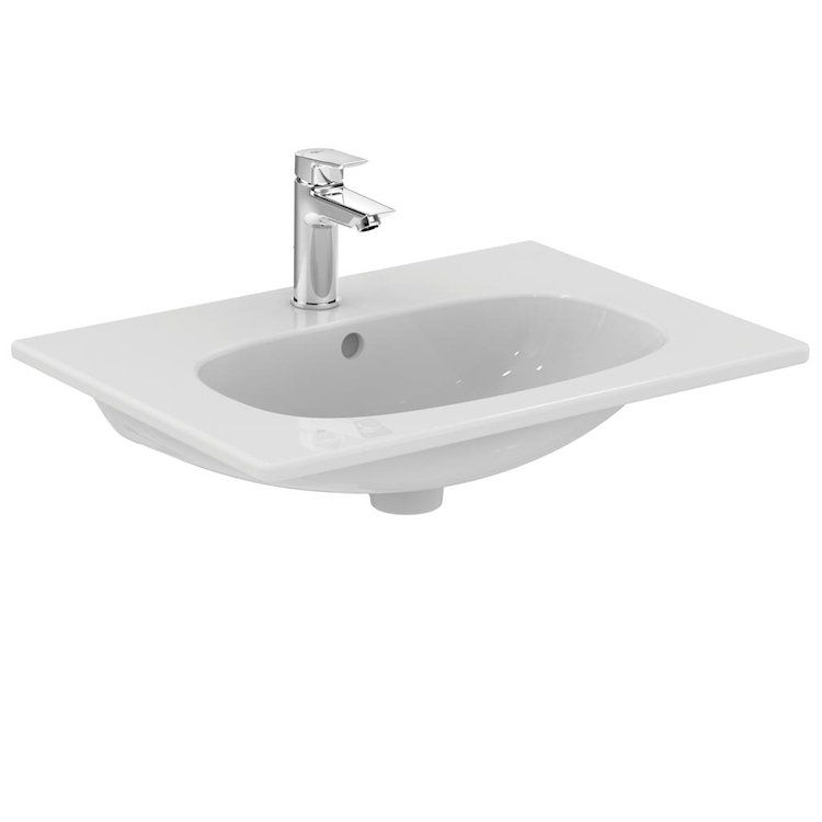 TESI NEW LAVABO 1 FORO 60X45 SOSPESO codice prod: T351001 product photo