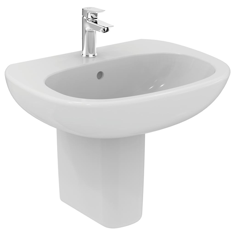 TESI NEW LAVABO 1 FORO 65X50 SOSPESO codice prod: T351301 product photo