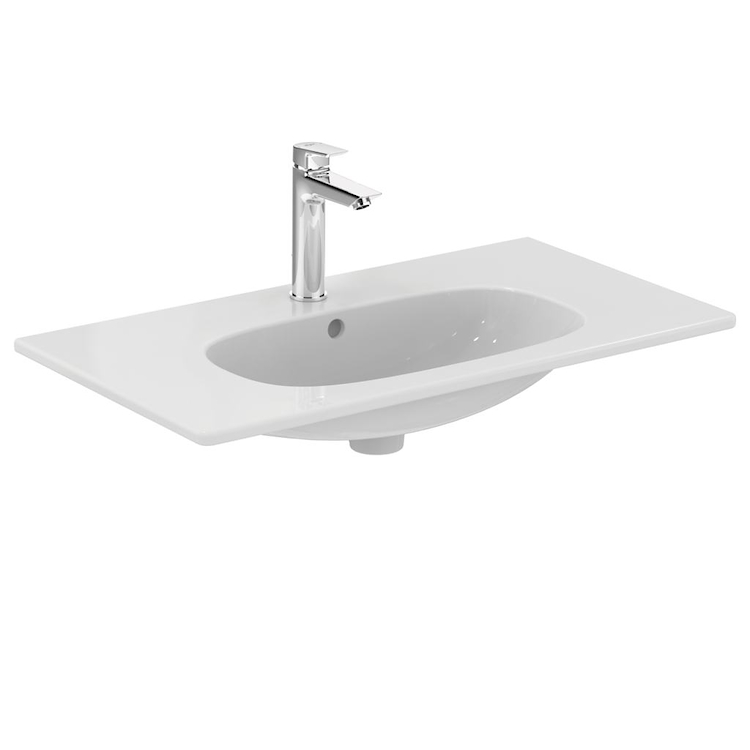 TESI NEW LAVABO TOP 1 FORO 80X45 SOSPESO codice prod: T350901 product photo