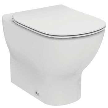 Tesi new wc filo parete scarico universale fissaggio for Scarico wc a parete
