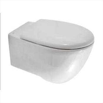 BOWL+ 55.38 WC SOSPESO SCARICO A PARETE CERAMICA GLOBO Ceramica