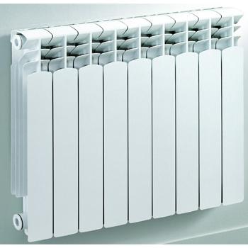 600 RADIATORE RAL9010 ALLUMINIO 4 ELEMENTI codice prod: DSV14171 product photo Default L2