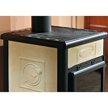 ROSSELLA R1 STUFA A LEGNA 11,1KW LIBERTY codice prod: 7112158 product photo Foto2 L2