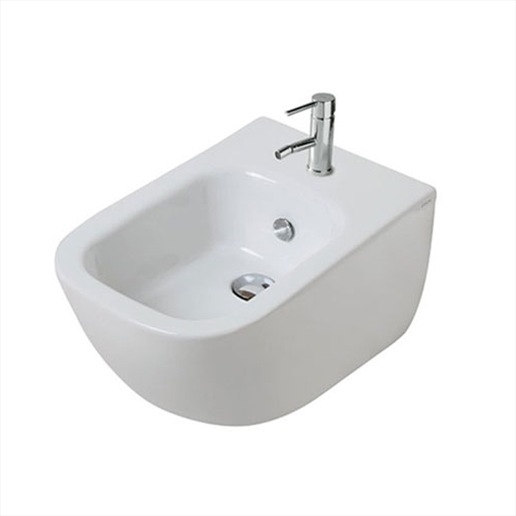 PLUS DESIGN BIDET 1 FORO SOSPESO 35X55 BIANCO codice prod: 6112 product photo