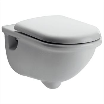 Esedra wc sospeso con sedile codice prod t311861 ideal for Cambiare tavoletta wc sospeso