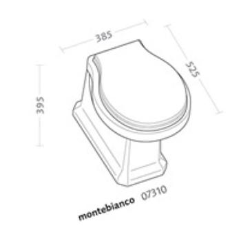 MONTE WC SCARICO PARETE codice prod: 07310000 product photo Foto1 L2
