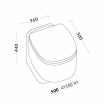 500 WC SCARICO MULTI CON SEDILE codice prod: 41340000 product photo Foto1 L2