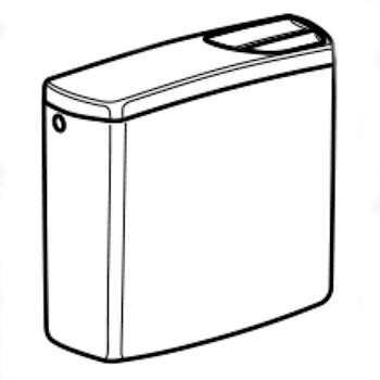 CASSETTA ESTERNA BCA ZAINO 2 PULS 140302 codice prod: 140.302.11.1 product photo Default L2