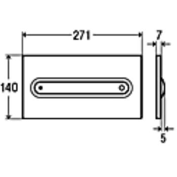 VISIGN FOR STYLE 11 PLACCA DI COMANDO codice prod: 597115 product photo Default L2