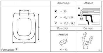 ARETUSINA E110/U SEDILE BIANCO LUCIDO codice prod: DSV04974 product photo Foto1 L2