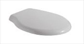 Ceramica Globo Serie Paestum.Paestum Sedile Cerniera Cromo Bianco Termoindurente Codice Prod
