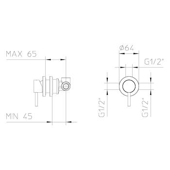 MIX INCASSO CROMO codice prod: Z10201410BOS001 product photo Foto1 L2