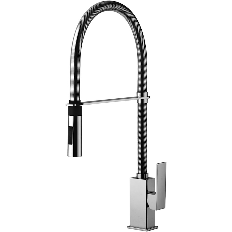 ELLE-EFFE EF179CR MISCELATORE LAVELLO PROFESSIONAL CROMATO codice prod: EF179CR product photo