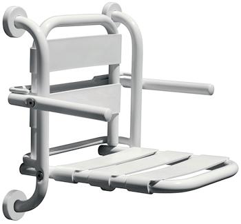 Sedile Ribaltabile Per Doccia Con Schienale E Braccioli Serie Export Codice Prod Dsv11398 Scelto Da Desivero