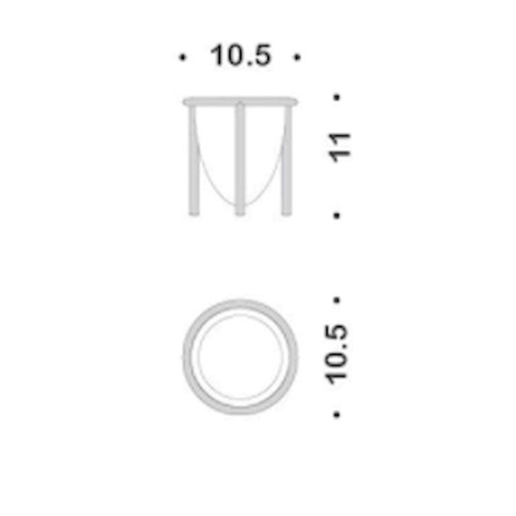 KHALA B18520-VAN RICAMBIO BICCHIERE codice prod: B18520-VAN product photo