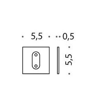 PORTOFINO B3200.GHIERA  CROMATO codice prod: B32000CR product photo Foto1 L2