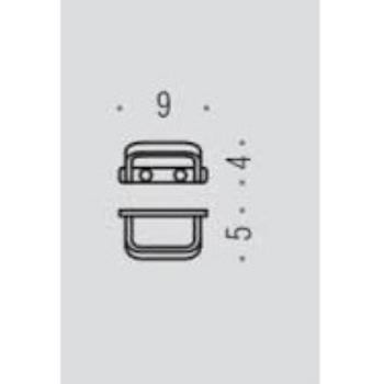 TIME W4217-CR APPENDI ABITI CROMATO codice prod: W4217-CR product photo Foto1 L2