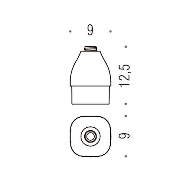 ALIZÉ CONTENITORE PER SPANDI SAPONE CROMATO codice prod: B93700-VAN product photo