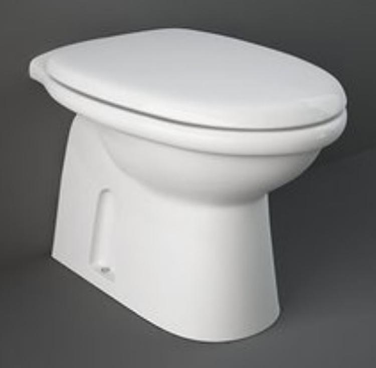 KARLA WC SCARICO A PARETE A PAVIMENTO 36X55 BIANCO codice prod: KAWC00004 product photo