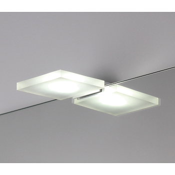 LAMPADA LED QUADRA METACRILATO codice prod: 7905 product photo Default L2