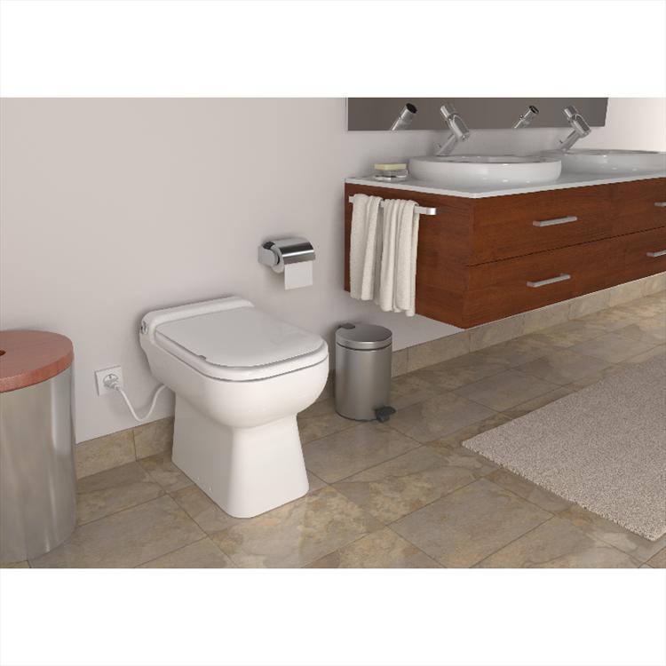 SANICOMPACT LUXE SILENCE SCARICO WC + LAVABO codice prod: CPTLS product photo