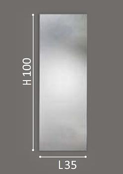 SPECCHIERA SEMPLICE 35 X 100 codice prod: DSV13852 product photo Foto1 L2