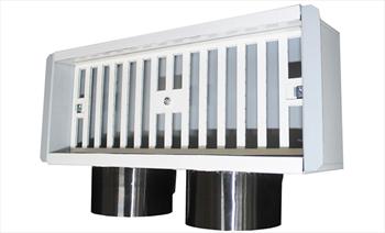 griglia completa di plenum 300 x 150 con serranda product photo Default L2