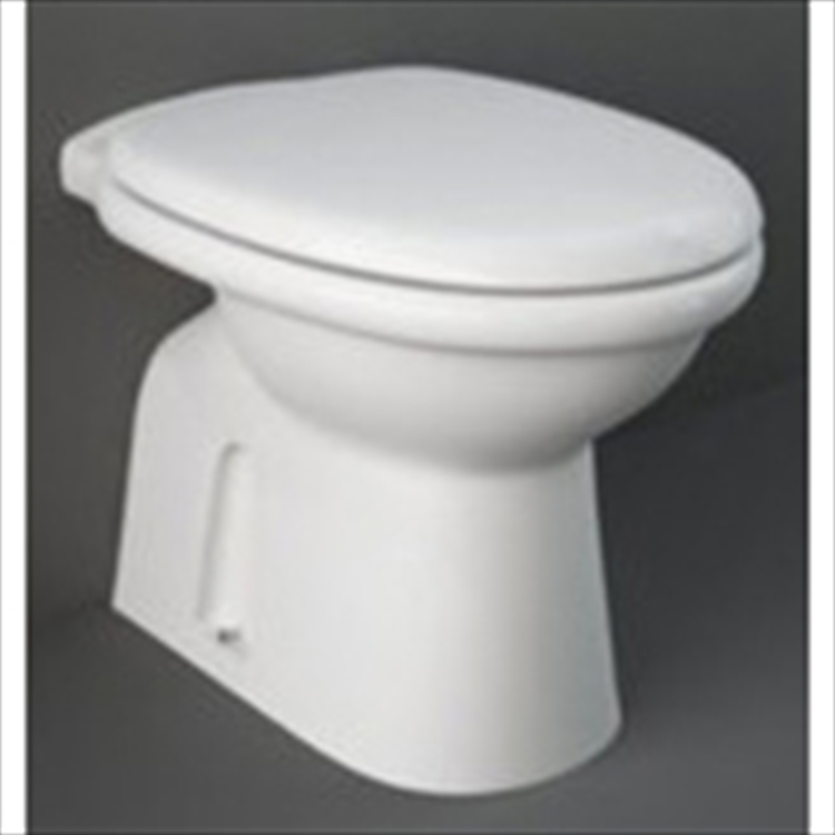 KARLA WC SCARICO PAVIMENTO BIANCO codice prod: KAWC00002 product photo