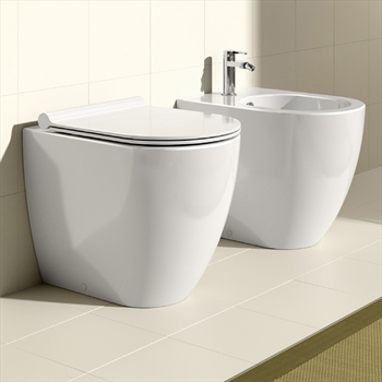 Kit wc bidet ceramica catalano for Ceramica catalano