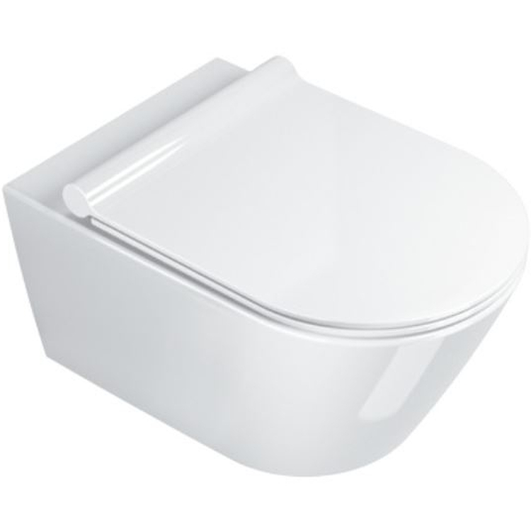 ZERO 55 WC SOSPESO NEWFLUSH SCARICO SENZA BRIDA PROD: 1VS55NR00 codice prod: 1VS55NR00 product photo