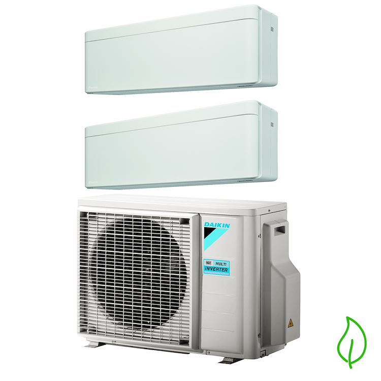 DUALSPLIT PURIFICATORE SERIE Stylish FTXA25AW FTXA25AW 2MXM50M 9000 9000 btu product photo