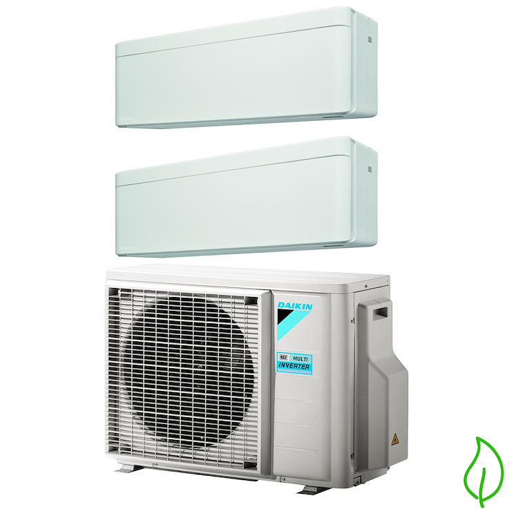 DUALSPLIT PURIFICATORE SERIE Stylish FTXA35AW FTXA50AW 2MXM50M 12000 18000 btu product photo