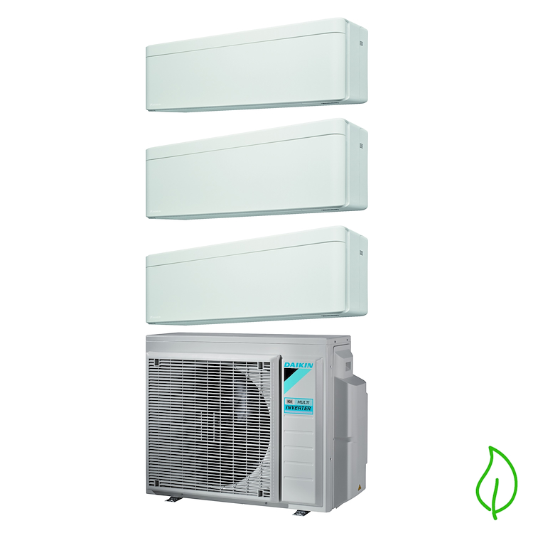 CONDIZIONATORE TRIALSPLIT SERIE STYLISH FTXA25AW+FTXA35AW+FTXA35AW+3MXM68 product photo