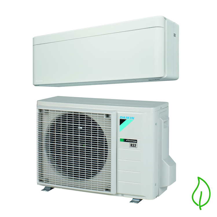 MONOSPLIT PURIFICATORE SERIE BlueEvolution Stylish FTXA35AW RXA35A 12000 btu codice prod: SB.FTXA35AW/RXAA product photo