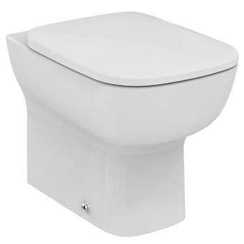 Esedra wc c sedile beu01 filo parete codice prod t300801 for Sedile wc ideal standard esedra