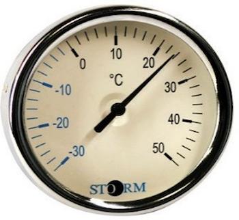 TERMOMETRO BIMET. DN 80 POST. 0-120°C GA codice prod: DSV06175 product photo Default L2